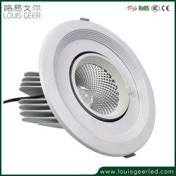 Haute qualité de l'énergie intérieure de l'enregistrement de plafond ronde 35W Downlight encastré dans le conduit de lumière au plafond