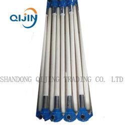 Tubo in ceramica di alluminio di grande diametro guaina di protezione per termocoppia 99% A1203
