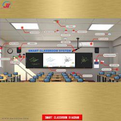 スマートな教室のスマートな教育の情報処理機能をもった教育制度のスマートな教室システム教授装置の教授の電子工学多機能教育ツール