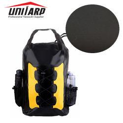Atteindre les normes européennes pas de phtalates 500D 0,55 mm la bâche de protection à revêtement en PVC de tissus pour sac à dos Sac