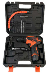 Горячая продажа 41ПК на базе набора инструментов в пластмассовом ящике электрического прибора ручного инструмента