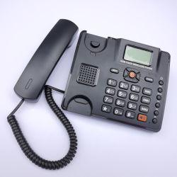 La tarjeta del TF Lte teléfono fijo inalámbrico de radio FM