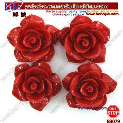 Синтетические коралловых резного закрывается цветок подвесной кронштейн для принадлежностей одежды (B3079)