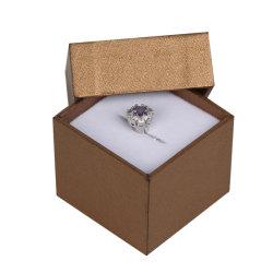 L'emballage de papier personnalisé de Luxe Boîte à Bijoux pour Colliers Bagues Bracelets