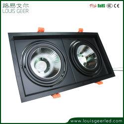 Nuovo indicatore luminoso registrabile della griglia del soffitto LED del prodotto 20W di brevetto di disegno