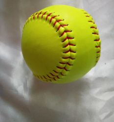Actmранее Yellow 11 дюймов Custom Logo Softball