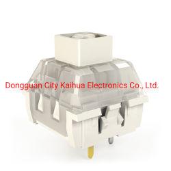 مفتاح صندوق كايله، أبيض مربع، مفتاح لوحة المفاتيح الميكانيكية، فيكي، عمر دورات 80 م