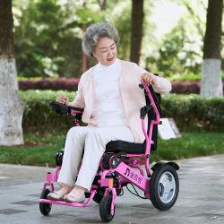 Максимальный комфорт легкий вес электрической мощности складывания коляску с Ce&FDA