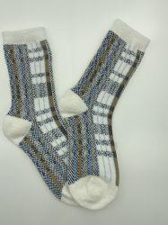Qualidade Feathery Padrão Allover quente de moda de meias de senhora