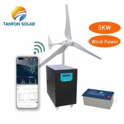 5kw 10kw Solar und Wind-Turbine-Generator-hybrides Rechnersystem für Hauptgebrauch mit hybridem Controller 3000W