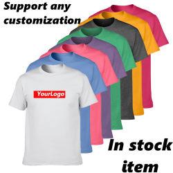 도매 100% 코튼 블랭크 디지털 프린팅 보이 스′ 플러스 사이즈 티셔츠 사용자 정의 티셔츠 Plain 남성용′ S 티셔츠 Cotton T 셔츠