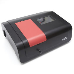 Spettrofotometro da laboratorio da 7 pollici con schermo LCD touch a luce ultravioletta