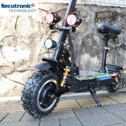 Hersteller-Doppelmotor, der faltbares Icarbot elektronisches zwei Rad-erwachsenes nicht für den Straßenverkehr elektrisches Roller-Fahrrad faltet