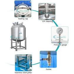 Гуанчжоу из нержавеющей стали для хранения воды герметичный духи Петро желе спирт вазелина бак для хранения химикатов оборудования