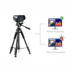 Maske Erkennung Hoher Fieber Alarm Screening Gerät Körpertemperatur Messung System Wärmebildkamera CCTV Infrarot-Bildwandler Überwachungskamera