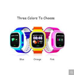 도매 Q90 스마트 워치 알람 시계 GPS WiFi Bluetooth 손실 방지 어린이용 SIM 카드