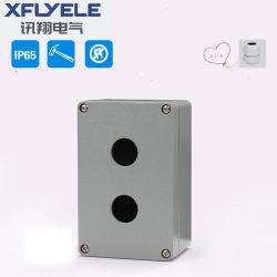 Fundición de aluminio con protección IP65 Resistente al agua con el casquillo del cable caja de empalmes