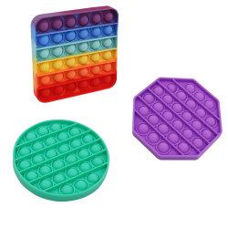 Brinquedo Fidget empurre o alívio do estresse sensorial Bolha Pop Squeeze Brinquedos