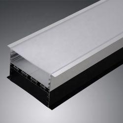 50 (w) X35 (H) la larghezza massima 88mm della flessione di millimetro ha messo il profilo chiaro lineare della striscia dell'alluminio LED del LED