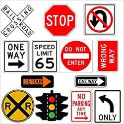 Высокое качество безопасности дорожного движения предупредительные знаки на системной плате