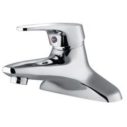 Salle de bains moderne couleur argentée du bassin de lavage du dissipateur de robinet mélangeur Chrome