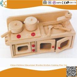 실행 장난감을 요리하는 중국 아이들 교육 나무로 되는 부엌