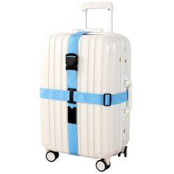 Accessori registrabili di corsa delle cinghie della valigia delle cinghie dei bagagli della traversa della serratura