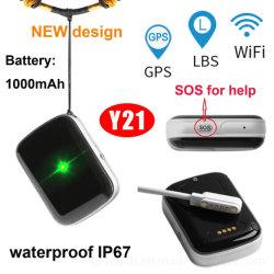 Inseguitore personale impermeabile di GPS di grande capienza della batteria con la fessura per carta di SIM