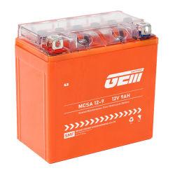 Цена герметичный свинцово-кислотный аккумулятор геля мотоциклов 12V 9ah