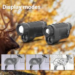 サーマルイメージング単眼光ハンティングスコープ赤外線ナイトビジョンサーマル カメラテレスコープ