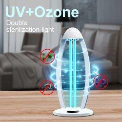 UV-Ozon-Lampe UVC UV-Beleuchtung Desinfektion Germizid Germizid Tube Leuchte mit Netzschalter und Touch Adjustment Dual Regulation Funktion