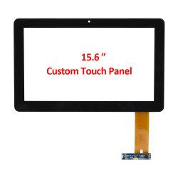 Custom OEM ODM 15,6-дюймовый формат Pcap емкостные несколько 10 сенсорный экран сенсорная панель USB с высокой скоростью чувствительных точный ответ датчика пленки