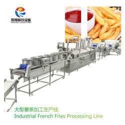 Qx-3000 Batata Industrial batatas fritas em linha de produção