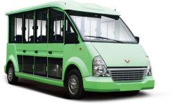 Entièrement fermé équipé de puissants moteurs à essence Double-Decker Transit Voiture de tourisme