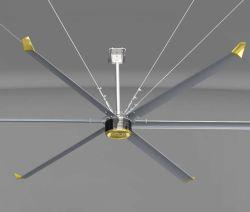 De grands industriels Hvls Ventilateur de plafond avec moteur de ventilateur Pmsm Économies d'énergie