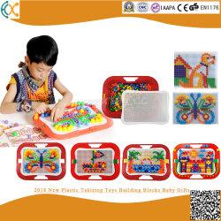 2018 Nuevo tablero de plástico juguetes Bloques de construcción regalos para bebés