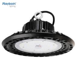 140lm/W de alta Lumen 100W/150W/200W/250W/300W LED UFO Lámpara de la Bahía de alta Fábrica Taller Proyector Industrial