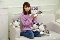 最もよいなされた柔らかいおもちゃ犬のカスタム 25cm 犬の人形
