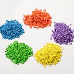 Los gránulos de caucho EPDM de Firestone gránulos de goma de color de la seguridad de la superficie de goma
