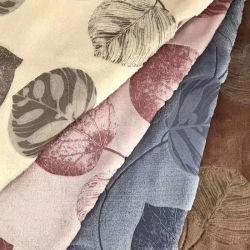 De afgedrukte Breiende TextielStof van de Vacht van het Fluweel van het Kledingstuk van de Kleding van de Polyester Microfiber