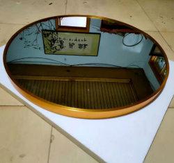 18/24/30/36inch LEIDENE Cirkel Gouden Frame om Decoratieve Muur zette Zilveren Spiegel voor Badkamers en het Toilet van de Slaapkamer op