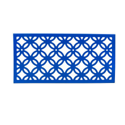Construction d'enveloppent les matériaux de revêtement de panneaux muraux décoratifs Peforated
