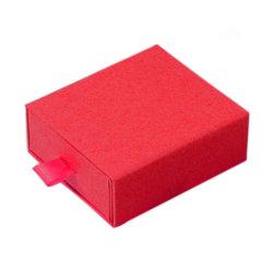 Com acessórios de manuseamento de papel de colar Pacote durável Candy Exibir Caixa de jóias brincos