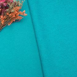 Main lisse sentiment 180gsm tricot trame Stock de tissu de nylon Spandex mat pour le Yoga