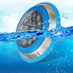 Luce LED RGB per piscina 12V 18 W piscina in acciaio inox Luce LED subacquea per piscina