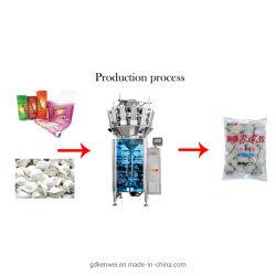 小さい微粒の多機能の包装機械自動小型Multiheadの計重機