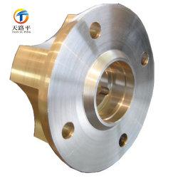 Di alluminio su ordinazione il mozzo di rotella della pressofusione