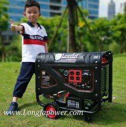 110V/60Hz a 220V 3000W 3500W 3.5KW generador de gasolina con llave tranquila con EPA