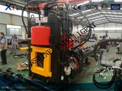 Haut angles CNC hydraulique de la vitesse de cisaillement de typage de perforation de la machine en acier
