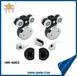 Porte coulissante en verre de pendaison la Roue des accessoires de montage (HW-6003)